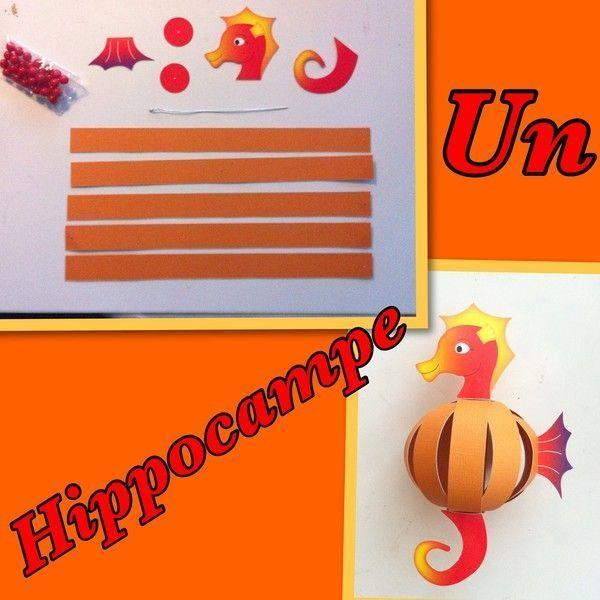 activite manuelle hippocampe